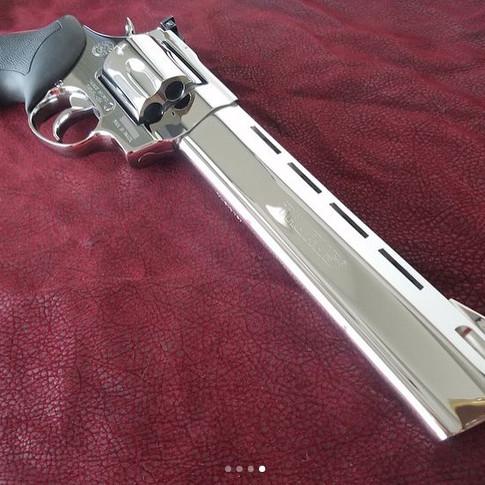 .44 Magnum Raging Bull Polished