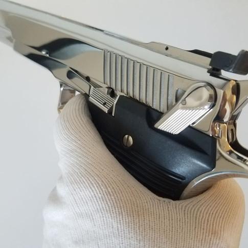 Automag III 30 Carbine Mirror Finish