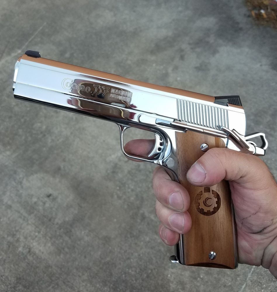 Mirror Finished Coonan Pistol