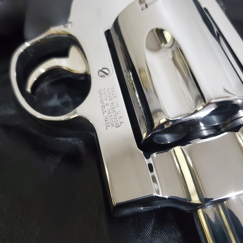 AFTER: Mirror Polished S&W 500 Magnum