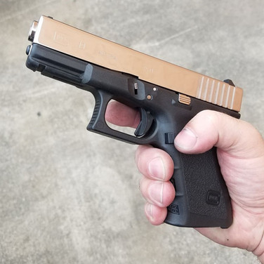 9mm Glock Mirror Finish