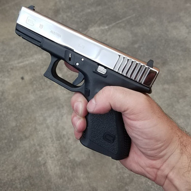Bright Polished Glock 19
