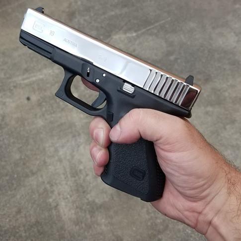 Bright Polished Glock 19