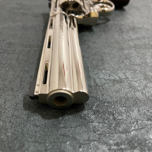 AFTER: Mirror Polished Nickel Python