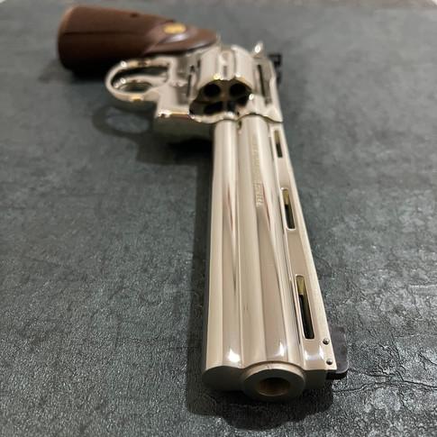 AFTER: High Polished Nickel Colt Python
