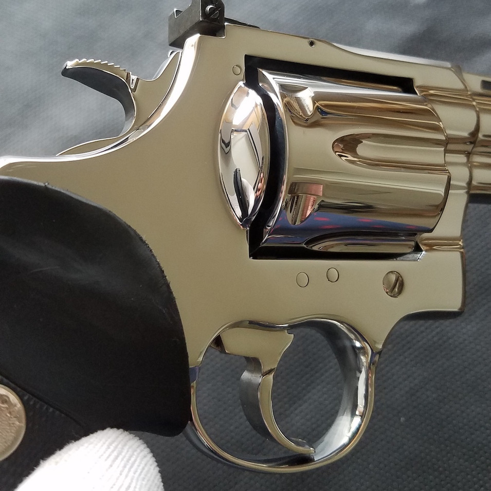 AFTER: Stainless Colt Anaconda
