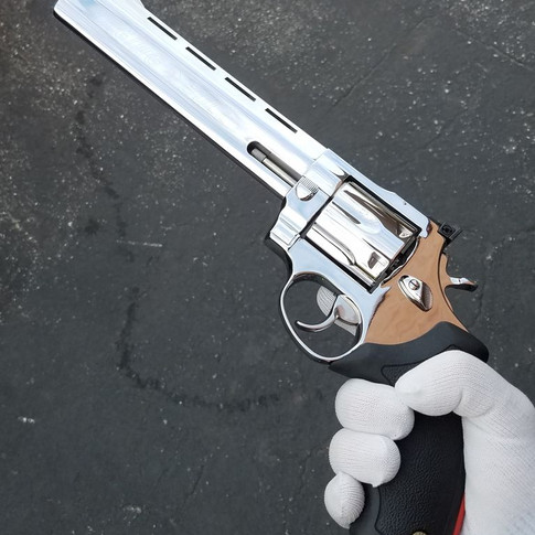 Mirror Polished .44 Magnum