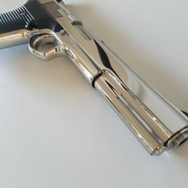 High Polished Automag III 30 carbine