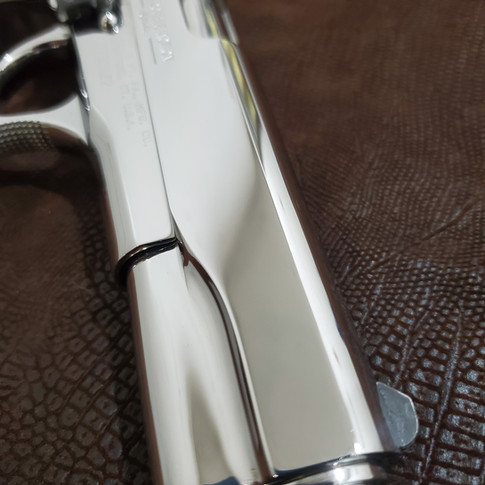 AFTER: Bright Polished Colt Double Eagle 10 mm