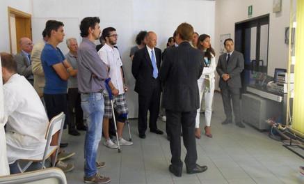 Michael Magri dans le  laboratoire de Tere Group