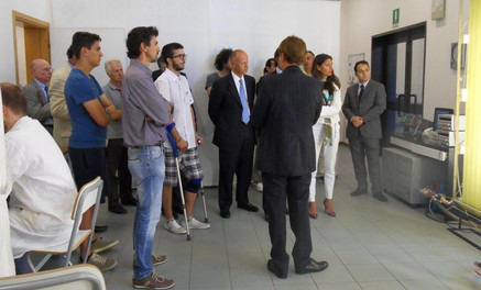 Michael Magri im Labor von Tere Group