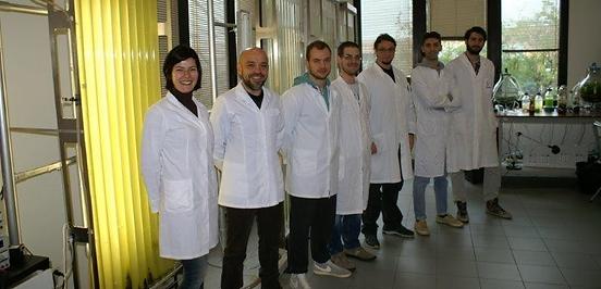 Laborpraktikanten der Tere Group