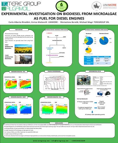 Poster Biodiesel B20 Turchia