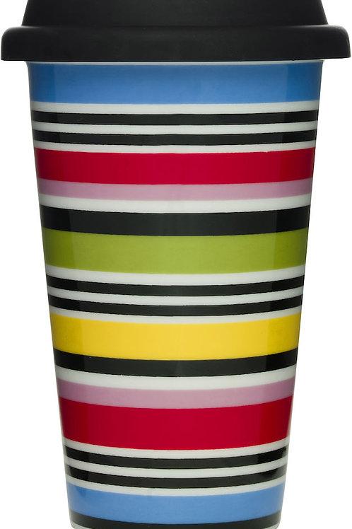 Sagaform Travel Mug, Stripes