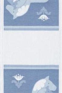 Tre Dalahästar Blå