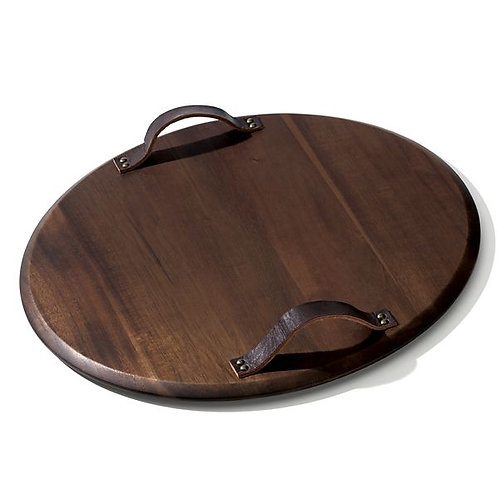 Hamund Serving Tray with Handles