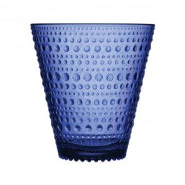 Ultramarine Blue Dewdrop Tumblers
