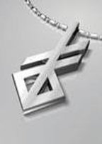 Silver Necklace Runic Creation