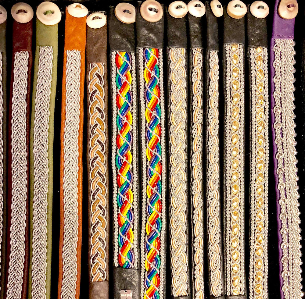 Saami bracelets from Julevu