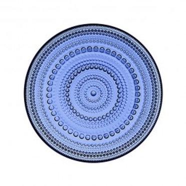 "Ultramarine Blue Dewdrop 7"" Plate"
