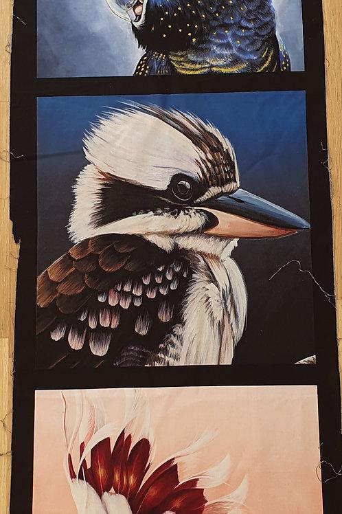 Small panel kookaburra  and friends