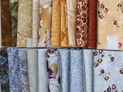 Mystery pack of 10 fat quarters