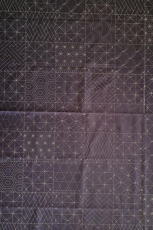 Sashiko panel all over design Hm 34