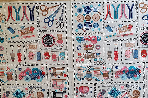 Sew vintage panel