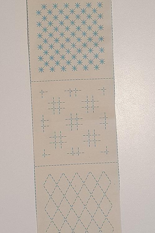 7 sashiko patterns