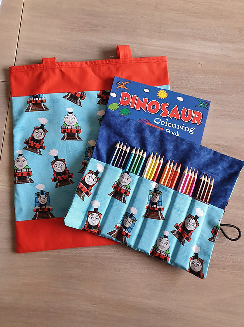Library bags combo Thomas the tank engine