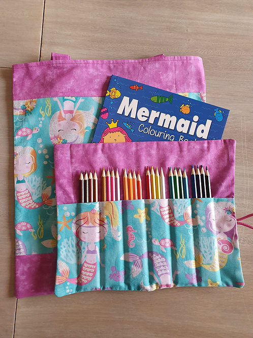 Library bags combo mermaids