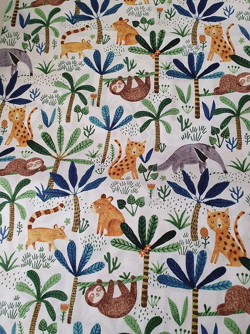 Jungle fever  fabric animals