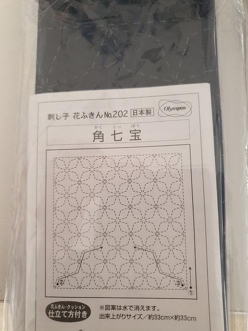Sashiko sampler no 202