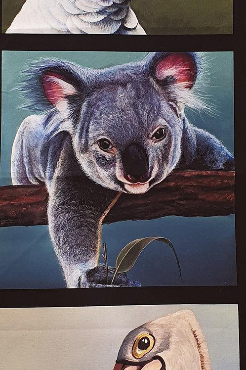 Small panel koala and friends