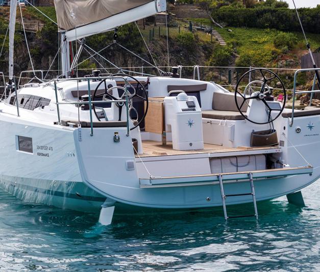 Jeanneau Sun Odyssey 410 - Roma/Marina di Nettuno