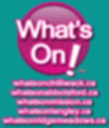 WhatsOnLogo_Websites_SeaFoamBackground.j