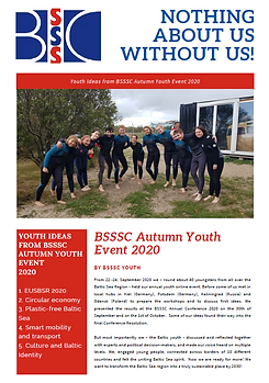 Autumn Youth Event & BSSSC Annual Conference 2020 - Summary