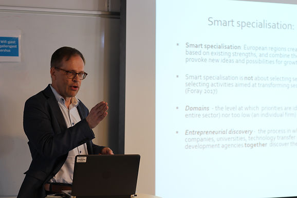 Seminar on smart specialisation and innovation held in Oslo, Norway