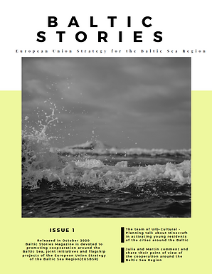 Baltic Stories – the first issue of a digital magazine about the EUSBSR cooperation!