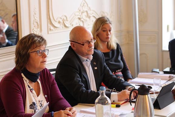 2018's last BSSSC Board Meeting held in Brussels