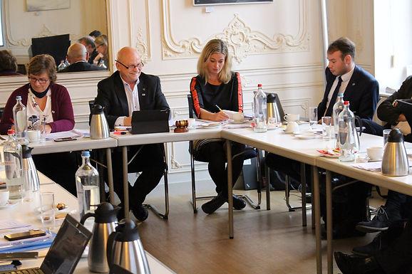 BSSSC Board Meeting in Cesis, Latvia