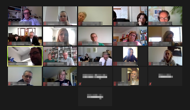The very first online BSSSC Board Meeting on June 10th, 2020