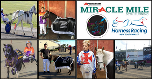 Winners at the Mini Trots Miracle Mile 2019 at Club Menangle