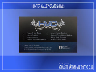 Hunter Valley Crates (HVC)