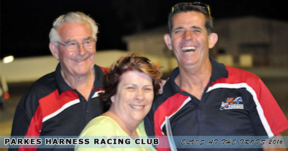 Parkes Harness Racing Club. Elvis At The Trots. Travel Voucher winner.