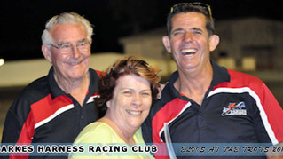 EXCITING RACING AND ENTERTAINMENT AT PARKES HARNESS plus A CHANCE TO WIN A $5000 TRAVEL VOUCHER