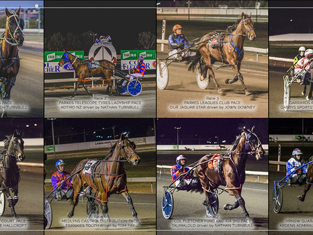 Parkes Harness Racing Club Winners - 02 AUGUST 2019