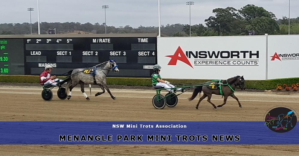Menangle Park Mini Trots Off To A Great Start. New South Wales Mini Trots Association.