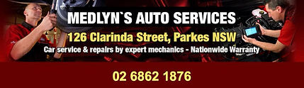 Parkes harness sponsor - Medlyns Castrol Auto Services