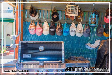 Oasis Motel Peak Hill amenities include barbeque area 002